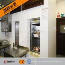 HOT!Electric restaurant modular kitchen table dumbwaiter lift residential food camp kitchen trailer elevator for sale