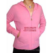Cashmere Hoody Sweater Pants Set