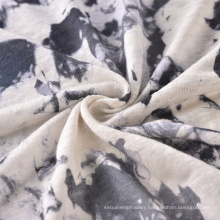Printed Linen Fabric 100% Linen Knitted Linen Fabric