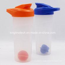 700ml New Design Plastic Protein Shaker Bottle with Blender Mixer Ball (KL-7038)
