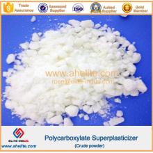 Polvo crudo PCE Reductor de agua Policarboxilato Superplastificante