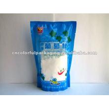 Stand up pouch bottom gusset Sacos de embalagem de glicose