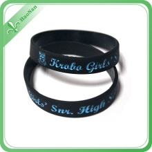 Wholesale Artificial Style Cheap Couple Silicone Bracelets