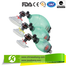 Resuscitador manual de PVC descartável (CE / FDA / ISO)