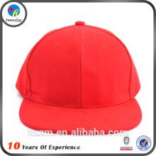 New Design Custom Flat Brim Fitted Hat