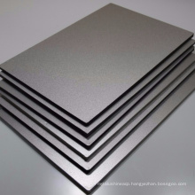 cheap price 3mm standard size composite aluminum panel with fireproof grade A1