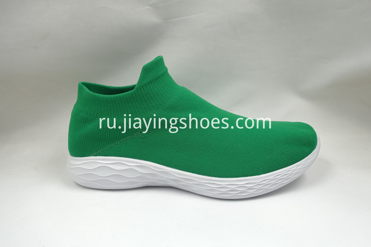 Green Sock Shoes