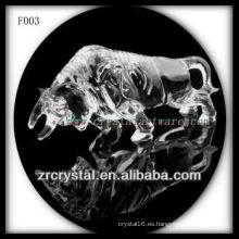 Corrida de toros esculpida a mano cristalino K9