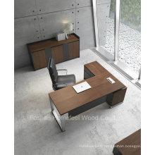 Table de bureau en bois moderne L Shape (HF-ZTXK2122)