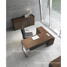 Modern L Shape Wooden Executive Table (HF-ZTXK2122)