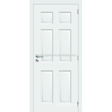 6 Panel White Painted Prehung Molded Door