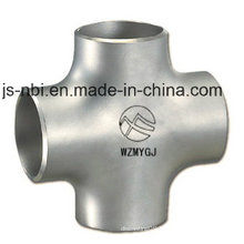 Four-Way Stainless Steel Pipes
