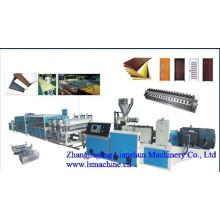 CE/GV/ISO9001 PVC extrusora de perfil WPC (650)