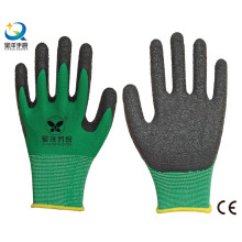 13G Polyester Shell Latex Palm Coated Work Gloves