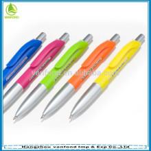 Plastic banner pen pushing for advertising promotional