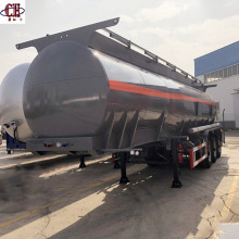 3Axle 48Cbm Fuel Oil Tank Semi Trailer