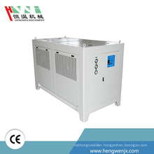 2017 new products packaged water chiller type cooled ozone friendly with factory direct sale price