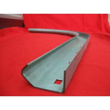Estampage métallique en acier au carbone pour rail de porte