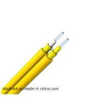 Single Mode Duplex Zipcord Tight Buffer LSZH Fiber Optic Cable