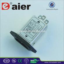 Daier trifásico e de baixa passagem filtro Emi 220v filtro de ruído