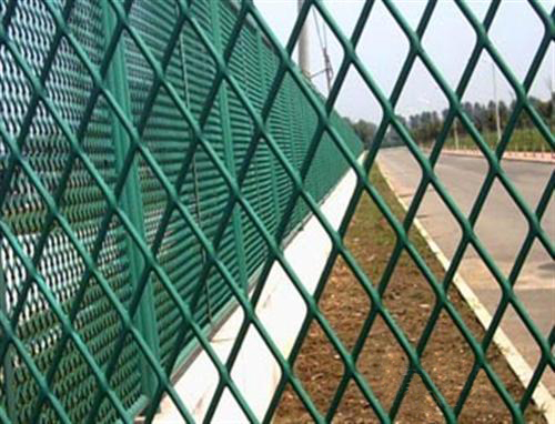 Colorful Chain Link Fence