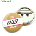 OEM Tin Badge Button Dengan Logo Percetakan