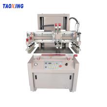 Semi auto silk screening press for flat product