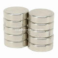 Disc Rare Earth NdFeB Magnets with Ni Plating