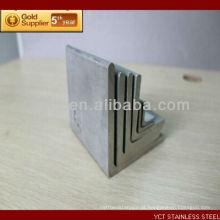 Ângulo de aço inoxidável escovado 430 de Tianjin China