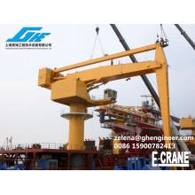 Массовая загрузка и разгрузка E-Crane до 2000 т / ч