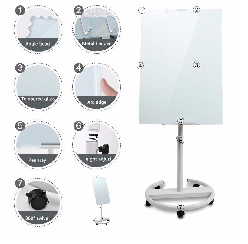 Magnetic-Glass-Dry Erase Board