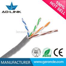 Feito em China Ethernet cat5 / utp cat5 do PVC / cabo de rede / cabo do lan