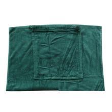 100% хлопок велюр печати торговая марка Corona рекламные пляжное полотенце сумка бренд логотип плеча drawstring мешок в полотенце ткань