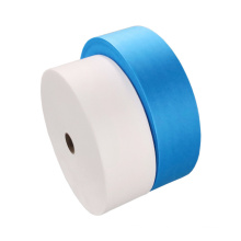 breathable 25gsm pp spunbond blue white SS non woven fabric