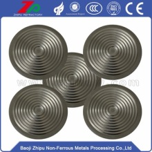 Tungsten air diaphragm for vacuum pump
