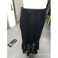 Spring Latest Jacquard Wrap Elegant Ladies Skirt