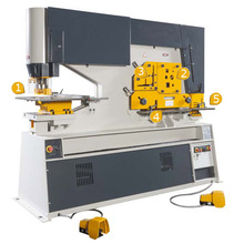 Máquina de entalhe de trabalho de ferro hidráulico