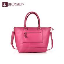 HEC China Factory Luxus PU PVC Ledertaschen Frauen Handtaschen