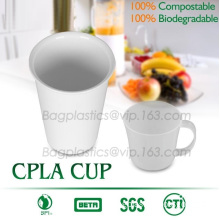 Blister molding biodegradable durable using coffe cup, cpla cup of blister molding, corn starch tea cup