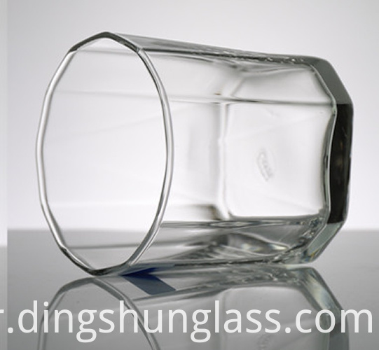 Small glass cups