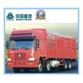 290HP Euroii Sinotruk / Cnhtc HOWO 8 X 4 Camion lourd / camion 31 tonnes Zz1317m3861V