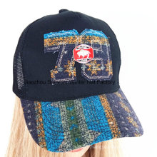 Fashion Grinding Washed Applique Embroidery Sport Baseball Cap