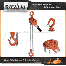 Manual Work approved wire rope lever block