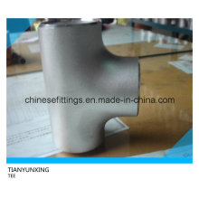 Asme B16.9 Wp304 316 Equal Stainless Steel Tee