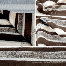 Tissu d'ameublement de molleton de haute qualité W / support pour le textile à la maison