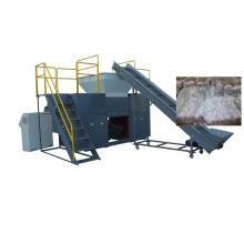 PE, trituradora del transportador del eje doble de la película plástica de los PP