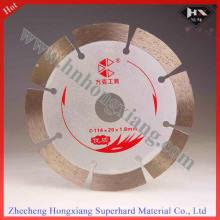 Lámina de sierra segmentada de diamante de 114mm para piedra cerámica
