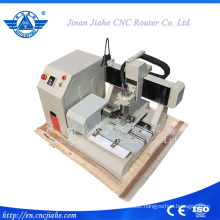 3D Mini CNC Router Wood with Cylinder Axis 4 Axis Cnc Machine of Wide Application