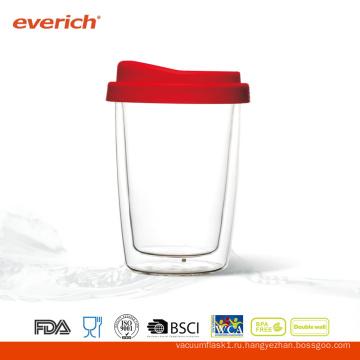 Рекламные прозрачные стеклянные чашки оптом