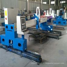 Machine de découpe plasma CNC / machine de découpe flamme portique